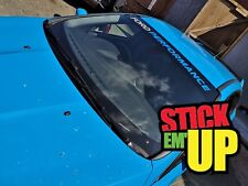 Ford Performance EXTRA Large Sun Strip Focus Fiesta Vinyl Decal BEST QUALITY