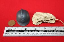 DID DRAGON IN DREAMS 1:6TH SCALE WW1 FRENCH INFANTRY HELMET & COVER PASCAL
