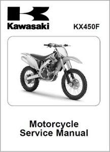Kawasaki KX450F Motorcycle Service Repair Workshop Manual 2009-2011 (0102)