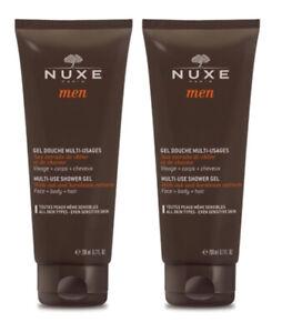 Nuxe Men Multi-Use Shower Gel 2 x 200ml