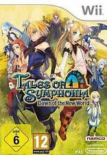 Nintendo Wii +Wii U TALES OF SYMPHONIA DAWN OF THE NEW WORLD * DEUTSCH Neuwertig