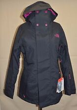 The North Face Women Lunashadow Insulated Jacket Black Waterproof Snow Ski  M