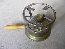"""VINTAGE FRENCH BRASS """"CLAMFOR"""" CAMPING / PORTABLE STOVE"""