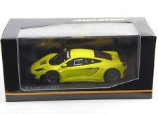 Mclaren Mp4-12c Gt3 2012 Yellow Minichamps 1 43 437121396