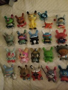 Kidrobot Dunny lot of 20 figures