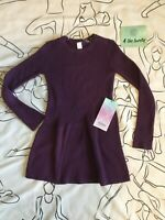 Ivivva By Lululemon, Girls,Top of the Whirl Dress,Heathered  Magenta Size 6 $68