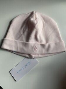 Ralph Lauren Baby Girl Pink Cotton Hat One size