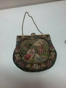 Embroidered Purse With Silk Lining