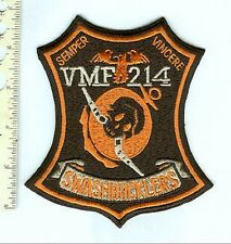 Military Aviation USN Marine Squadron VFM - 214