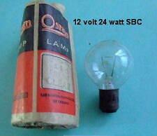 12 Volt 24 Watt SBC BA15d Headlamp Spot light bulbs Vintage classic Lucas 1