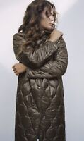 ZARA AW2020 LIMITED EDITION QUILTED COAT WITH WATER / WIND PRO. SIZE L BNWT