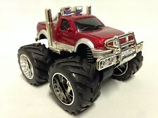 """Monster 4 X 4 Pickup 5"""" Truck w/ Super Friction Power, Suspension Car Toy SUT RD"""