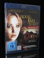 BLU-RAY HOUSE AT THE END OF THE STREET - EXTENDED CUT - HORROR JENNIFER LAWRENCE