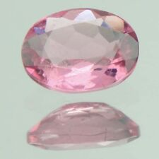 0.70 Ct ~ Dazzling! Natural Great Lustrous Pinkish Red Oval Cut Tourmaline