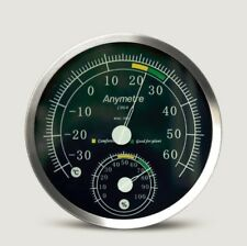 Anymetre TH-603 Stainless Steel 304 Temperature And Humidity Hygrometer Gauge