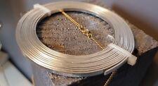 Fil D Aluminium Plat 3x1mm Environ 2m