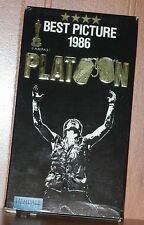 PLATOON BETAMAX VIDEO MOVIE Tom Berenger Willem Dafoe Charlies Sheen