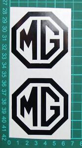 MG Vinyl Logo Decal x2 Free P&P