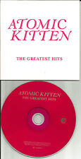 ATOMIC KITTEN Greatest Hits RARE TRX & DIFFERENT SEQUENCE ADVNCE PROMO DJ CD