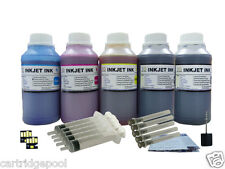 Refill ink kit for Kodak 30 All-In-One Hero 3.1 4.2  5.1 5x250ml/s with 2 chip