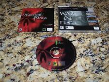 Warrior Kings (PC, 2002) Game Windows