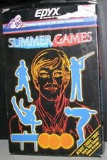Atari 2600 Game Cartridge Summer Games Boxed R4