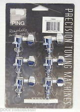 PING GUITAR CHROME 6 IN LINE TUNING MACHINES - NEW!