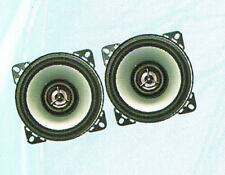 Coppia Altoparlanti 100mm 2 vie Potenza musicale 200 W Woofer 100mm Tweeter 40mm