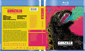 Godzilla Showa-era Collection - Custom Blu-ray Covers W/ Empty Case (No Discs)