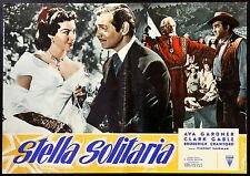 CINEMA-fotobusta STELLA SOLITARIA a. gardner, c. gable