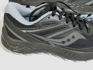 Saucony Cohesion 13 running sneakers shoes black and black sole/ Model: S10563-1