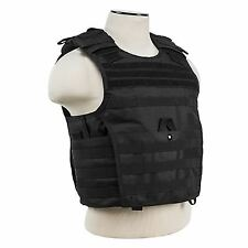 "PLATE CARRIER VEST (UP TO 11""x14"" ARMOR PLATE POCKET)/LARGE/BLACK"