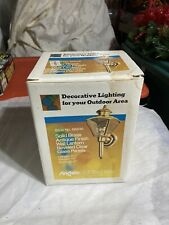 NEW IN BOX Angelo Decorative Outdoor Lighting Solid Brass 66846 Antique Finish