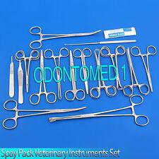 Spay Neuter Pack Veterinary Instrument Forceps Scissors,DS-679