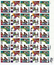 US STAMP #2082-2085 1984 OLYMPICS  MINT SHEET OF 50 M/NH
