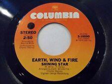 Earth Wind & Fire Shining Star / Yearnin' Learnin' 45 1975 Columbia Vinyl Record
