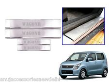 Car Stainless Steel Door Foot Step Sill Plate 4pcs for Maruti Suzuki WagonR