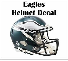 "Philadelphia Eagles 4Life  5""x6"" Window/Wall Vinyl Glossy Decal Helmet Sticker"