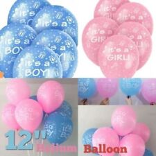 "It's A Boy / Girl 12""Latex Printed Balloons Celebrations,Christening new arrival"