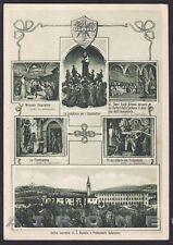 VICENZA LONIGO 13 SAN DANIELE - SANT'ANTONIO - VEDUTINE Cartolina 1938 viaggiata