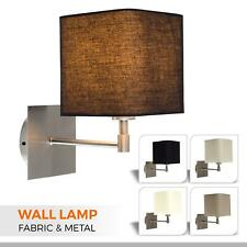 Pair of Wall Lights Plug In Sconces Porch Indoor Light Modern Bedside Wall lamps