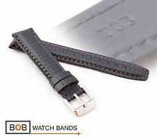 - Bob echtlederuhrband carbonstyle para deportiva Laco negro 19/16 mm