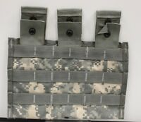US Military Molle Triple Mag Pouch, Universal Camouflage, 8465-01-525-0598 (B)