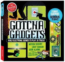 KLUTZ Build Your Own GOTCHA GADGETS Kit: Sensors, Alarms, Sounds; Grossblatt NEW