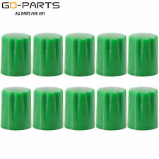 DAVIES 1900H Style Green Plastic Knob For Stomp Box Guitar AMP Effect Pedal Mix