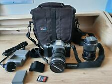 Olympus OMD EM-5 camera with 2 lenses, carry bag and 16GB memory card