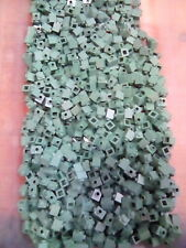 Lego Sand Green Brick Modified 1X1 Stud On One Side 100 Pieces NEW