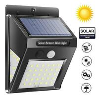 40/60 Garden Waterproof 3Sided Light LED Power Solar Motion Lamp High Quality