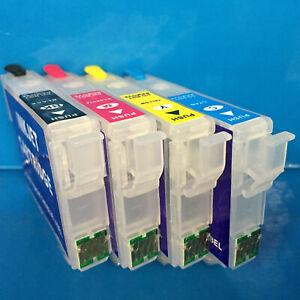 SUBLIMATION REFILLABLE Empty Cartridges Epson Expression Home XP342 XP345 XP432