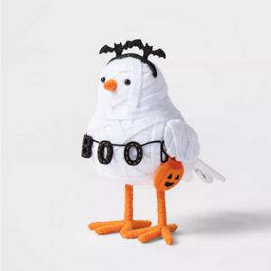 2021 Gauzy Mummy Fabric Halloween Bird Hyde & Eek Boutique Figurine Target